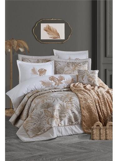İyi Geceler İstanbul Luxury Çeyiz Seti - Palm Gold Altın